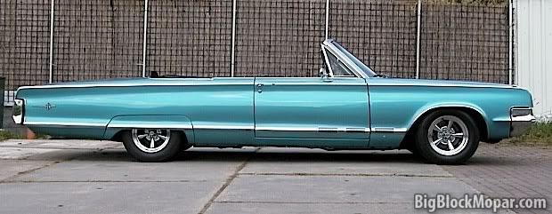 1965 Chrysler 300 convertible