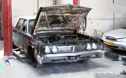 1967 Chrysler Newport- engine swap
