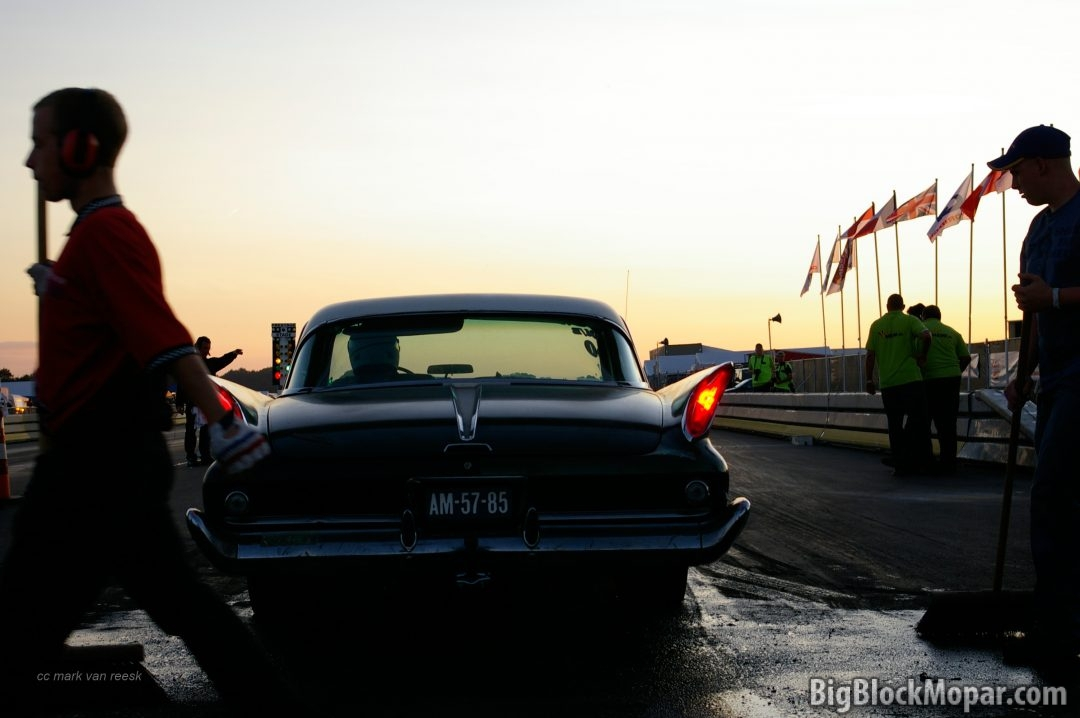 1960 Chrysler NewYorker at Drachten Dragraces