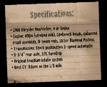 1960 Chrysler NewYorker - specs paper
