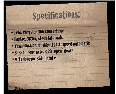 1965 Chrysler 300 convertible – BigBlockMopar