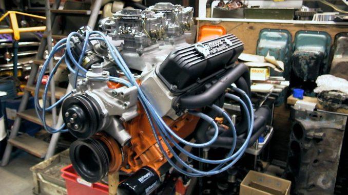 440 Engine Build - Offenhauser dual quad intake, Edelbrock heads, Hooker headers, Moroso 11mm sparkplugcables
