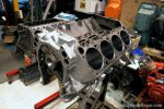 "440ci BigBlockMopar 496"" Supercharged Stroker engine build - Engine block"