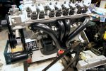 "BigBlockMopar 496"" LongRam Stroker engine build - Shorty headers"