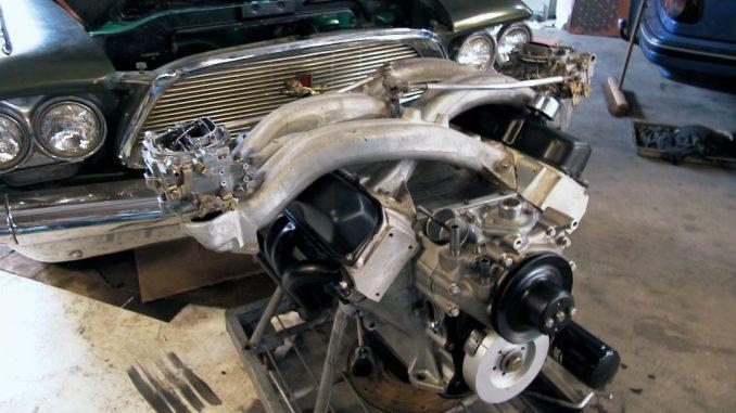 496ci stroker engine with longram intakes