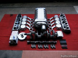 "BigBlockMopar 496"" - 8/71 Supercharged Stroker engine build parts"
