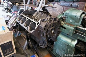 "BigBlockMopar 496"" Supercharger Stroker engine block"