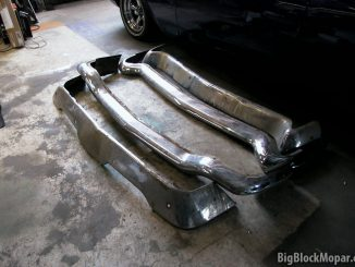 1957 Chrysler - Chrome bumpers