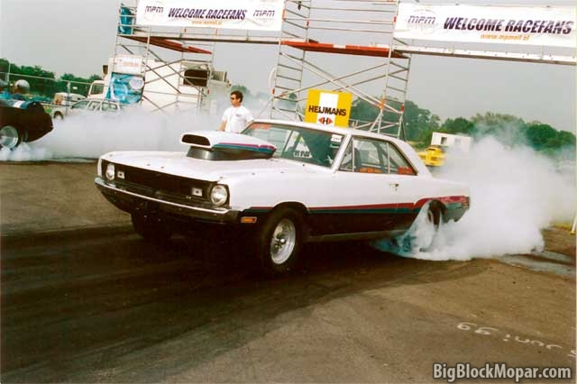 1971 Dodge Dart at Drachten Dragraces