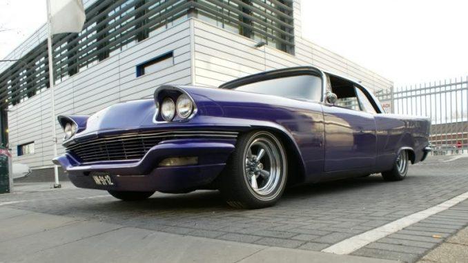 1957 Chrysler Custom at Saturday Night Cruise