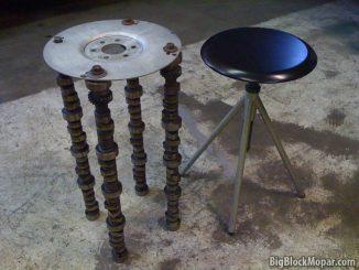 Camshaft stool