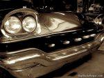 1957 Chrysler Custom bullet grille - Sepia image