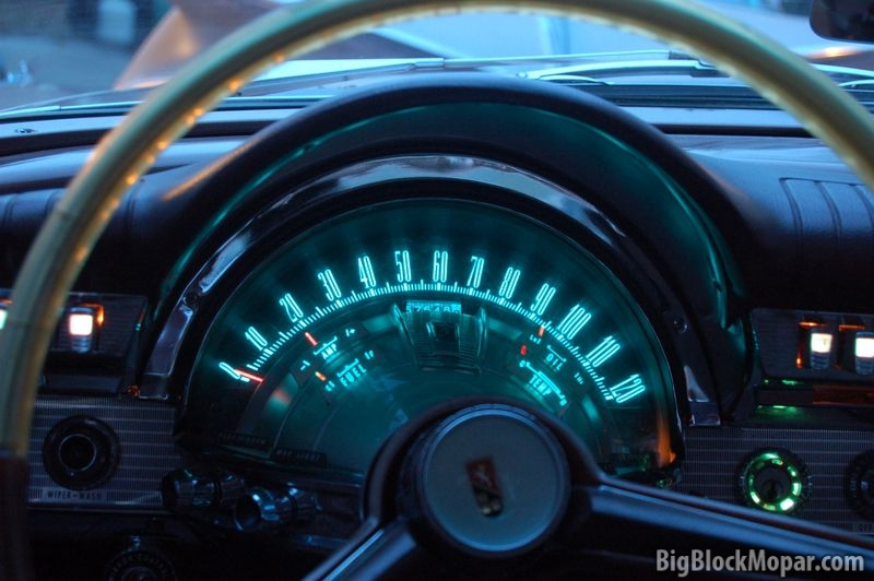 Chrysler Electroluminescent Dashboard Lighting Bigblockmopar