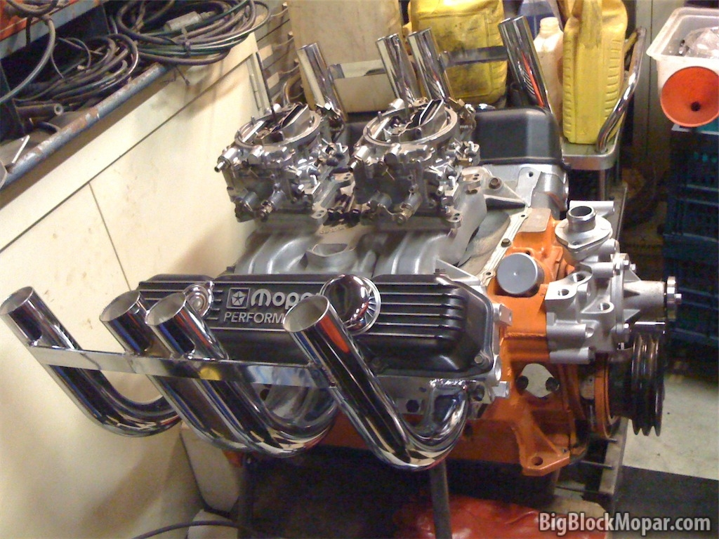 440 engine with Zoomie headers