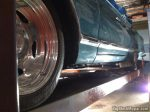 "1965 Chrysler 300 convertible with 275/50/17"" wheels"