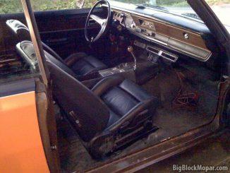1973 Dodge Dart - Interior BMW seats