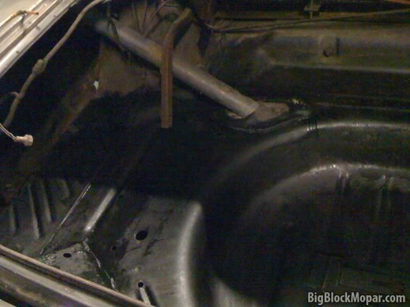 1973 Dodge Dart - Trunk floor rust prep