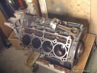 5.7 Hemi engine block