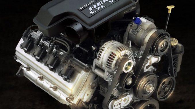 5.7L Hemi engine build
