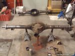 1973 Dodge Dart - Rear axle housing narrowing