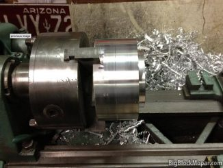 "496"" BigBlockMopar Supercharged Stroker engine - Blower pulley"