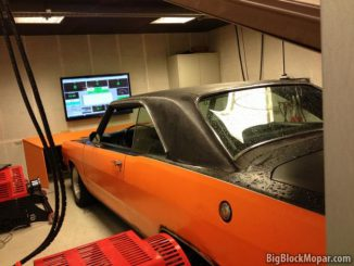 1973 Dodge Dart at Dyno at Ludwig Performance