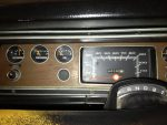 1973 Dodge Dart Dashboard upgrade