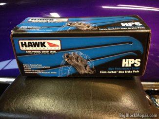 1973 Dodge Dart - Hawk discbrake pads