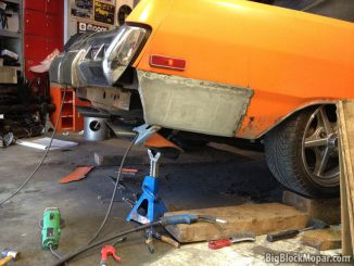 1973 Dodge Dart Rear sheetmetal fix