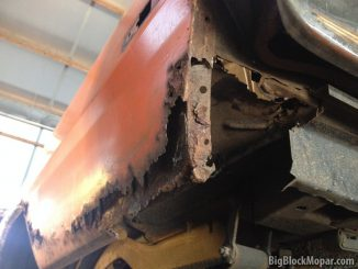 1973 Dodge Dart Rust repair