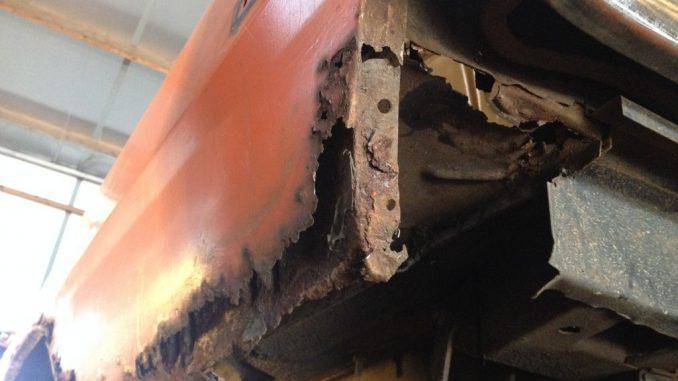 1973 Dodge Dart Rust repair
