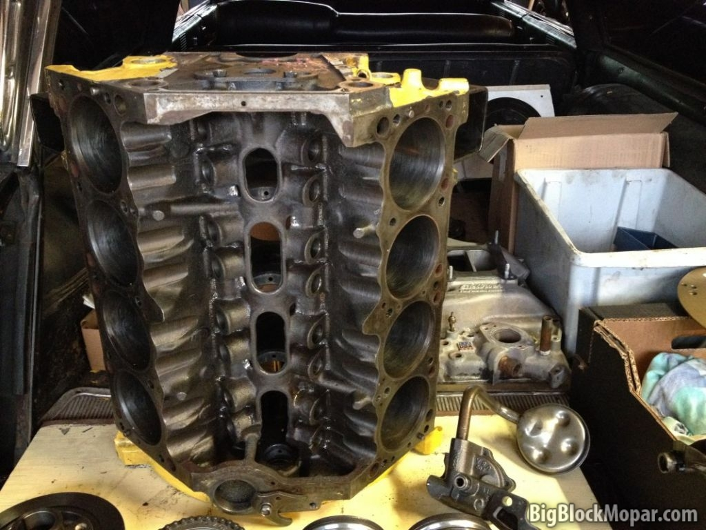 Building a fresh 360ci engine for efficiency & power