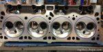 360ci combustion chamber polishing