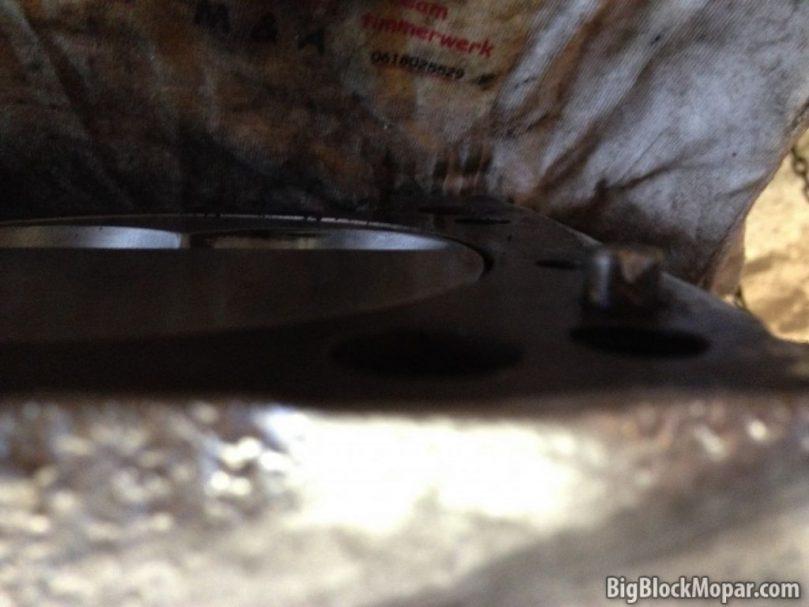 360ci Engine Piston deck