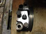 360ci Engine block prepped oil pump