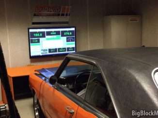 1973 Dart at Ludwig Performance Hub Dyno