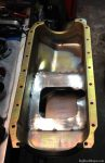360ci engine oil pan anti-slosh / windage tray