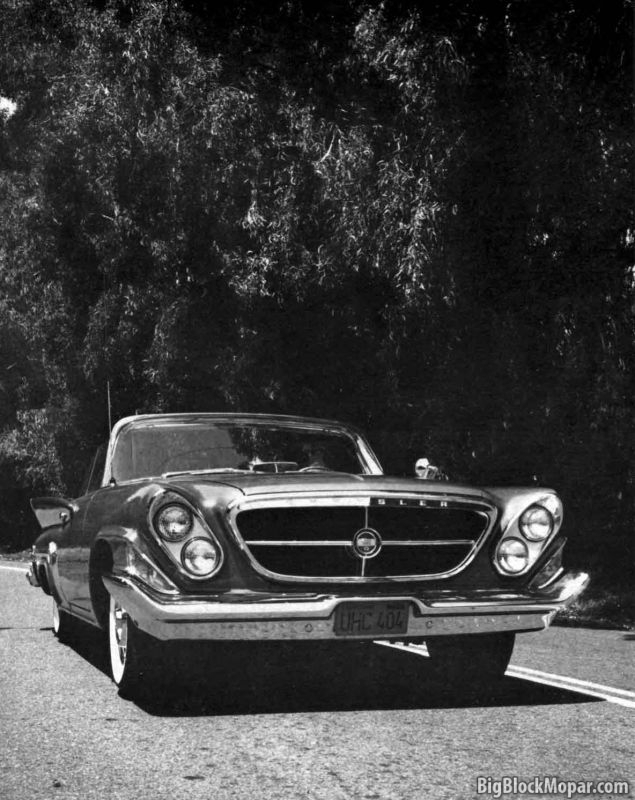 1961 Chrysler 300-G Road Test (MotorLife)