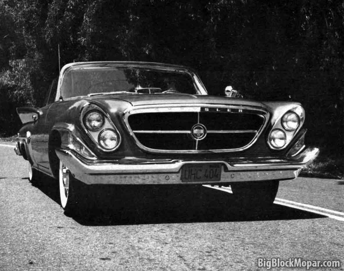 1961 Chrysler 300 G Road Test Car Life Bigblockmopar