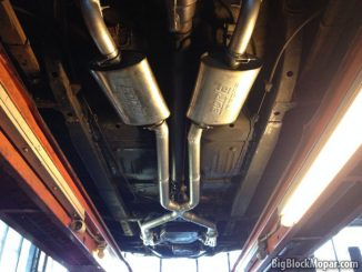 1973 Dart - Dougs Headers - Full exhaust