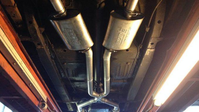 1973 Dart - Dougs Headers - Full exhaust