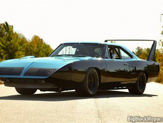 Plymouth Superbird Black blue