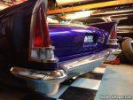 1957 Chrysler Windsor Custom - Taillight chrome vinyl
