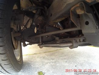 1973 Dodge Dart - Front Suspension
