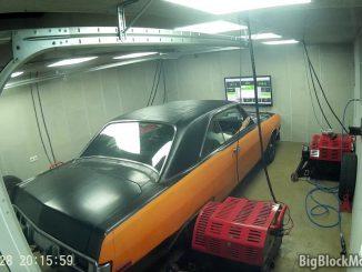 1973 Dodge Dart Dyno-session 2017
