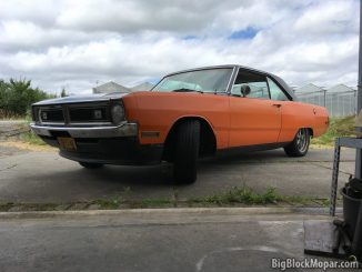 1973 Dodge Dart Wheel Camber