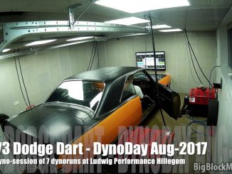 1973 Dodge Dart at the ChassisDyno for the 3rd time at Ludwig Performance
