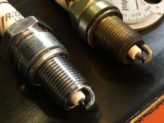 Accel 416 sparkplug versus NGK GR4IX iridium sparkplug