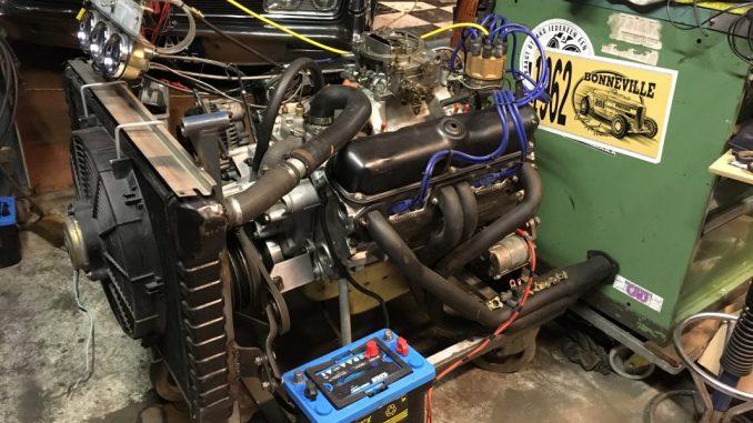 Engine teststand 360 engine