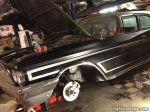 1960 Chrysler discbrake conversion using 1973 Chrysler rotor and caliper